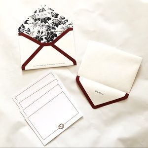 GUCCI greeting cards Authentic